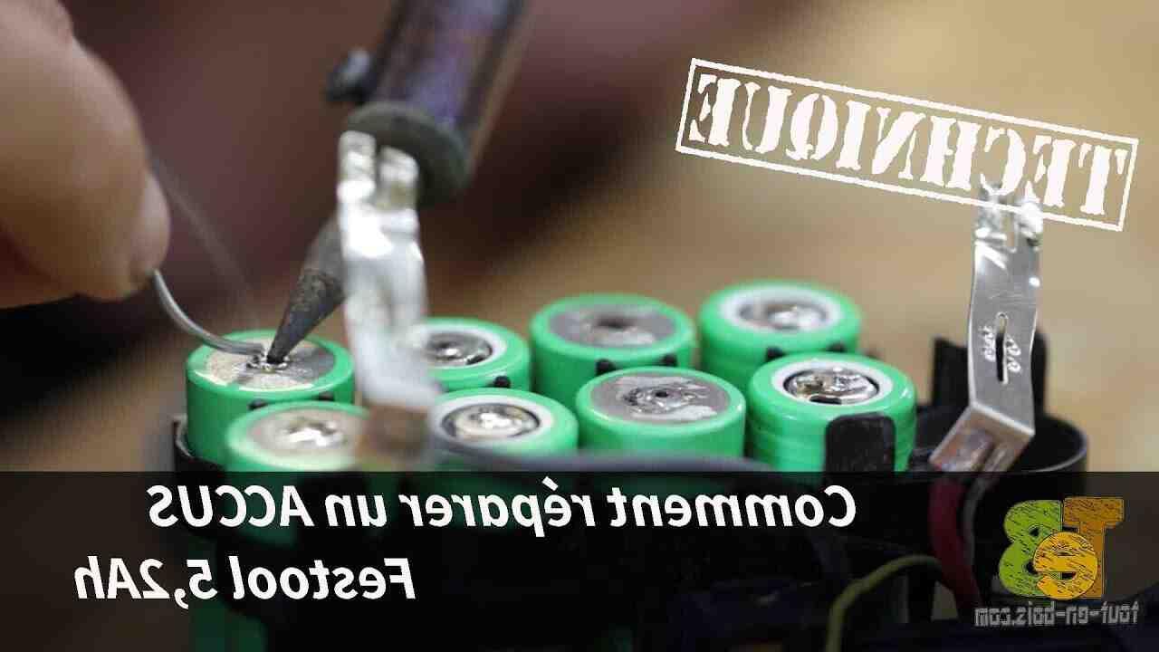 Comment reparer une batterie de velo electrique