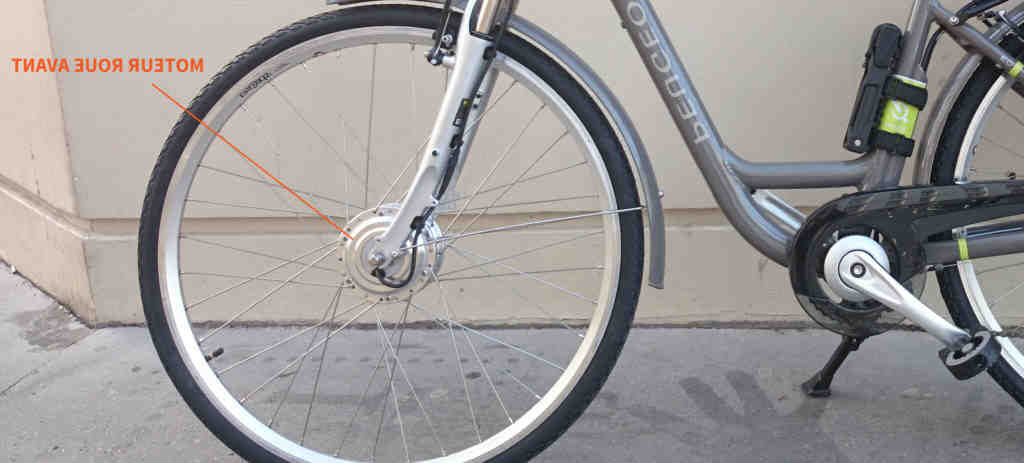 Velo electrique moteur pedalier ou roue