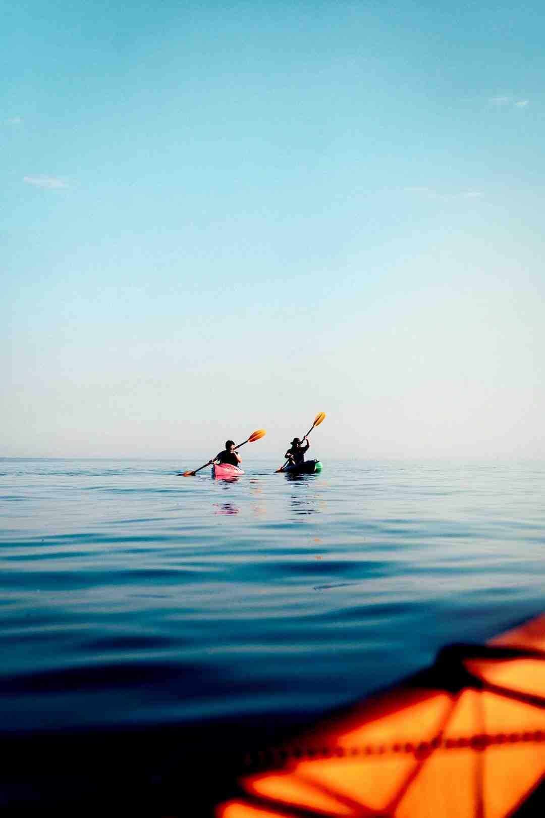 Comment  Faire la différence entre un kayak et un canoë