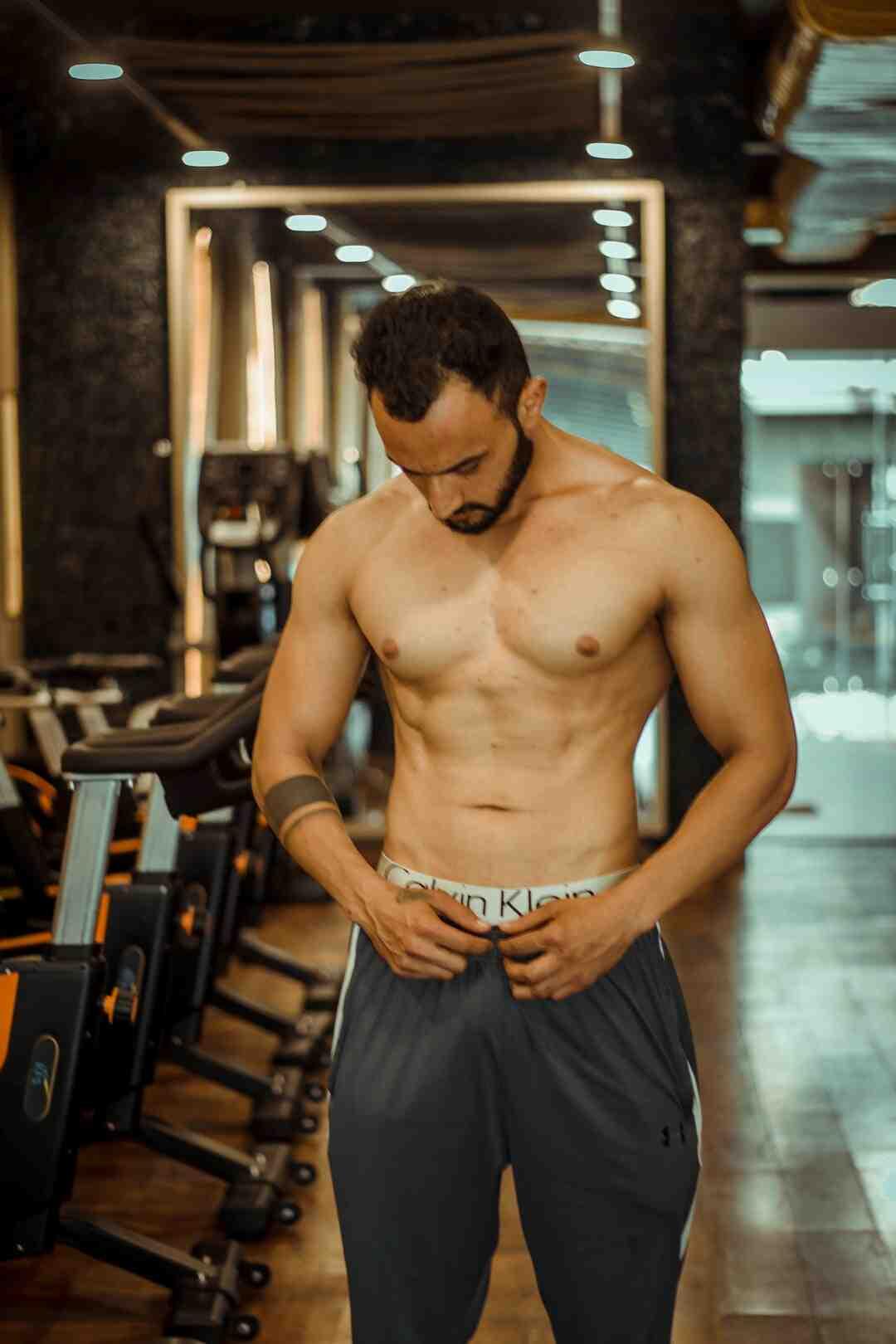 Est-il possible de se muscler en un mois ?