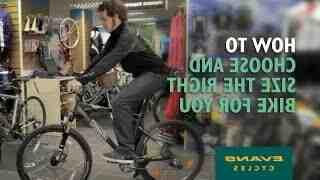 Quel vélo pour quelle taille ?