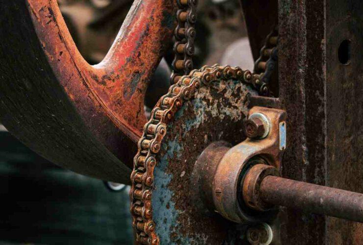 Comment  Enlever la rouille de la chaine d'un vélo
