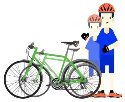 Où trouver la taille d'un vélo en pouce ?